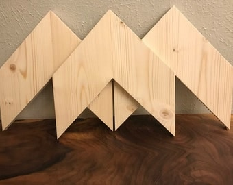 DIY Rustic Chevron Arrows (Set of 3)