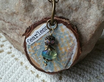 Fearless Inspiration Diffuser Necklace