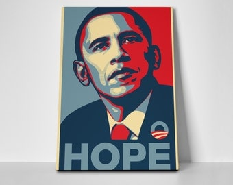 Obama Hope Limited Edition 24x36 Poster | Obama Hope Canvas