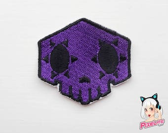 Sombra Overwatch Embroidery Patch