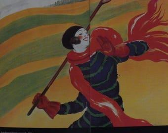 Leonetto Cappiello, Golf Poster, Wall Decor, Vintage, Golf Gift