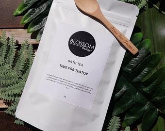 Bath Tea Time For Teatox Herbal Natural Bath Soak
