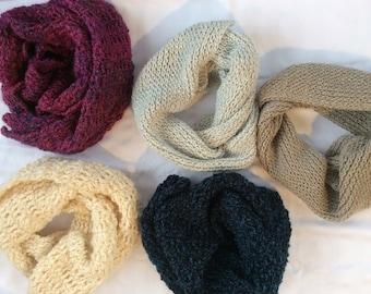 Cozy Knit Scarves