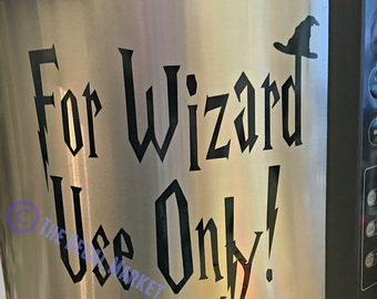 Wizard Use Only Instant Pot Decal