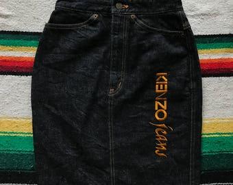 KENZO jeans Skirt