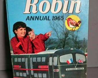 Robin Annual 1965 Vintage Children's  Annual Unclipped