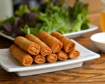 Authentic Vietnamese Eggrolls for your next party, event, Football, housewarming, potluck, birthday.