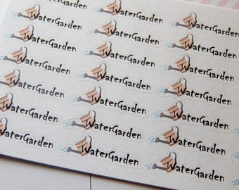 Water Garden Stickers