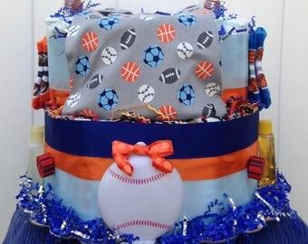 Sports Mania Cake