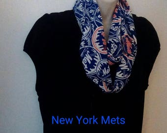New York Mets Infinity Style Scarf