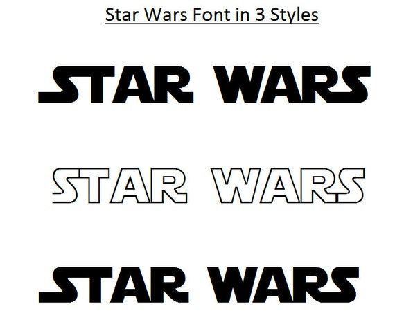 3 schriftarten star wars schrift star. Black Bedroom Furniture Sets. Home Design Ideas