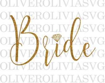 Bride Ring SVG, Bridal party SVG, Bridesmaid cut file, Bridal party Cutting File, SVG Cut File, Digital Cut File, Wedding svg, ring svg