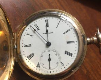 1898 Waltham Seaside pocket watch