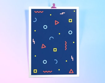 Shapes - Giclée Print (Limited Edition Art Poster)