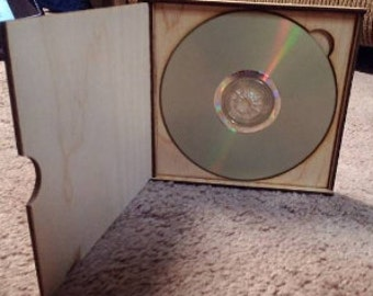 Wooden CD/DVD case