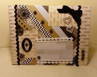 Mini album Scrapbook Pink and Gold  ,  free shipping