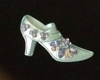 Small Victorian Shoe Brooch/Pin