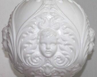 Victorian GWTW Lamp White