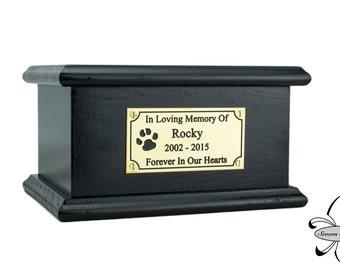 Solid Wood Pet / Cat / Dog, Cremation Urn / Casket