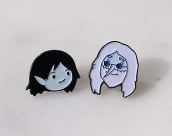 set: Marceline and Simon Ice King Adventure Time Pins