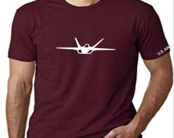 United States Air Force (USAF) F22 Raptor Men T-Shirt