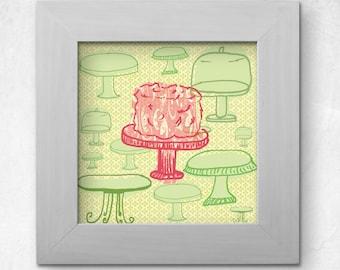 Printable Cake Illustration 3