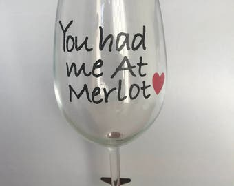 Cute Wine/Beverage Glasses!!!  Custom Created!