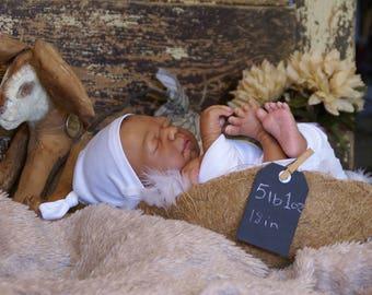 Ethnic/AA/Biracial Reborn Newborn Baby Doll Girl Daisy