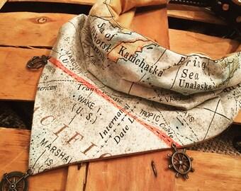 Atlas- World explorer bandana