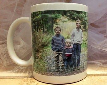 Custom mug - Personalized Photo Mug - coffee mug - sublimation - Gifts for Him - Gifts for Her