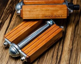 Cherry Wood Pedal Set