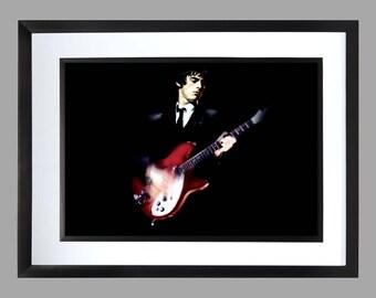 Paul Weller A3 Wall Art . Print , Graphic . Home Art . Poster . The Jam