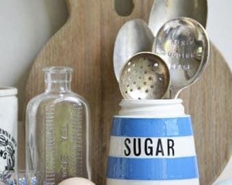 T.G. Green ware Sugar pot