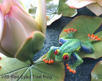 Red-Eyed Tree Frog Silicone Mold by Scott Clark Woolley