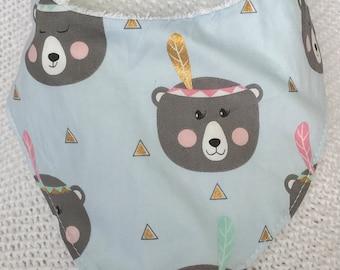Bear-y Cute Dribble Bib