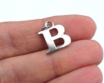 One Letter B, Alphabet Charm, B
