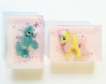 My Little Pony Soap - Childrens Soap, Toy Soap, Party Favours, Wedding Favours, Birthday Gift, Perfect Gift, Gift for her, Easter Gift