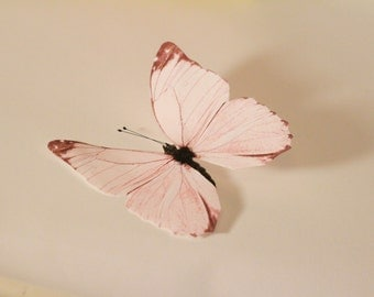 Pair of Pink Butterflies- Add On Only