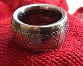 Morgan Dollar 90% Silver Coin Rings