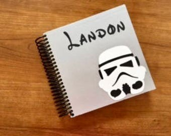 Personalized Disney Autograph and Photo Book, Character autograph books- Star Wars