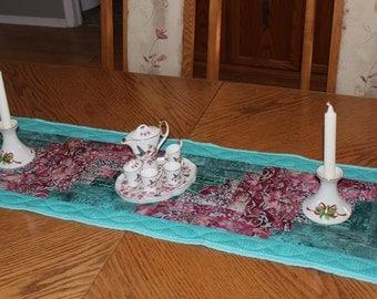 Table runner, table topper, center piece, table decor