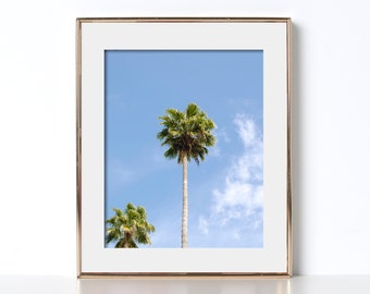 Palm Leaves Coconuts Los Angeles Digital Download Printable Art Cali Art Adventure Printable Wanderlust World Traveler Classy AF Nasty Woman