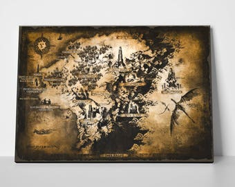 Dark Souls II, Drangleic World Map
