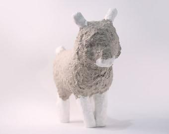 Lil Sheep,  Lil Sheep, lamb, toy, souvenir, handmade, papier mache, decor, collection, baa-lamb,  sculpture, gypsum, paper,  PVA glue_