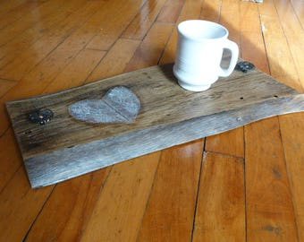 Serving tray - barn wood