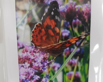 Hand made floral photo cards Blank for own message