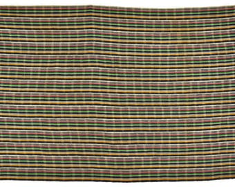 OLD AFRICAN NORTHERN ghana hand woven cloth textile