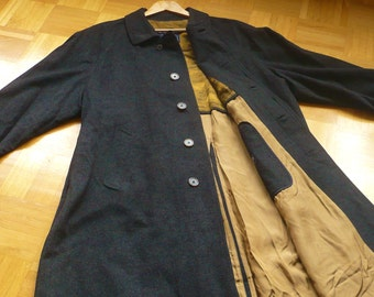 Burberry Loden coat, long, anthracite Gr. L