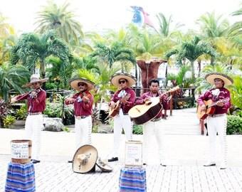 Mariachi band in Cozumel