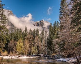 Winter in Yosemite Valley, Yosemite National Park